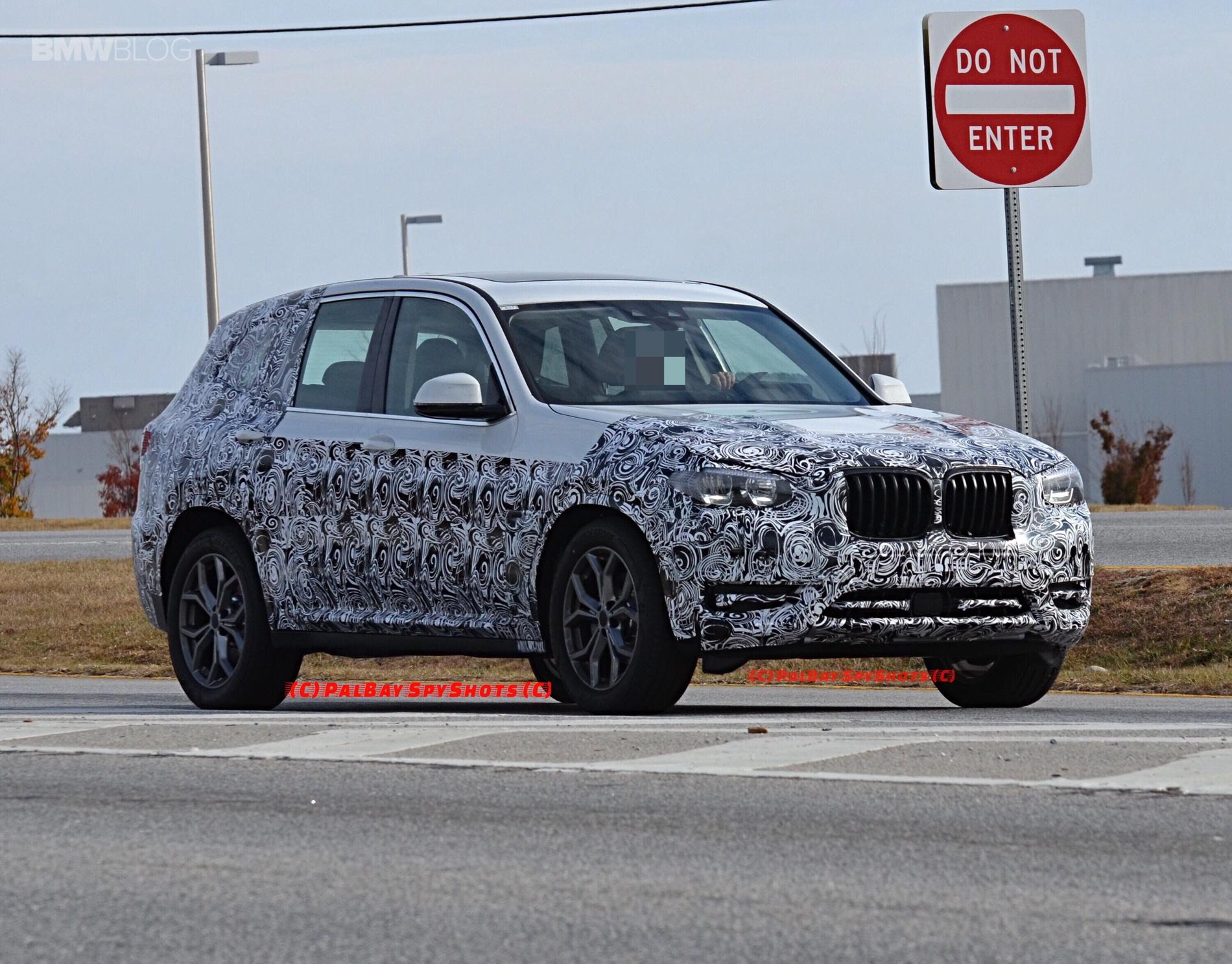 2016 - [BMW] X3 [G01] - Page 6 BMW-X3-M40i-spy-photos-3