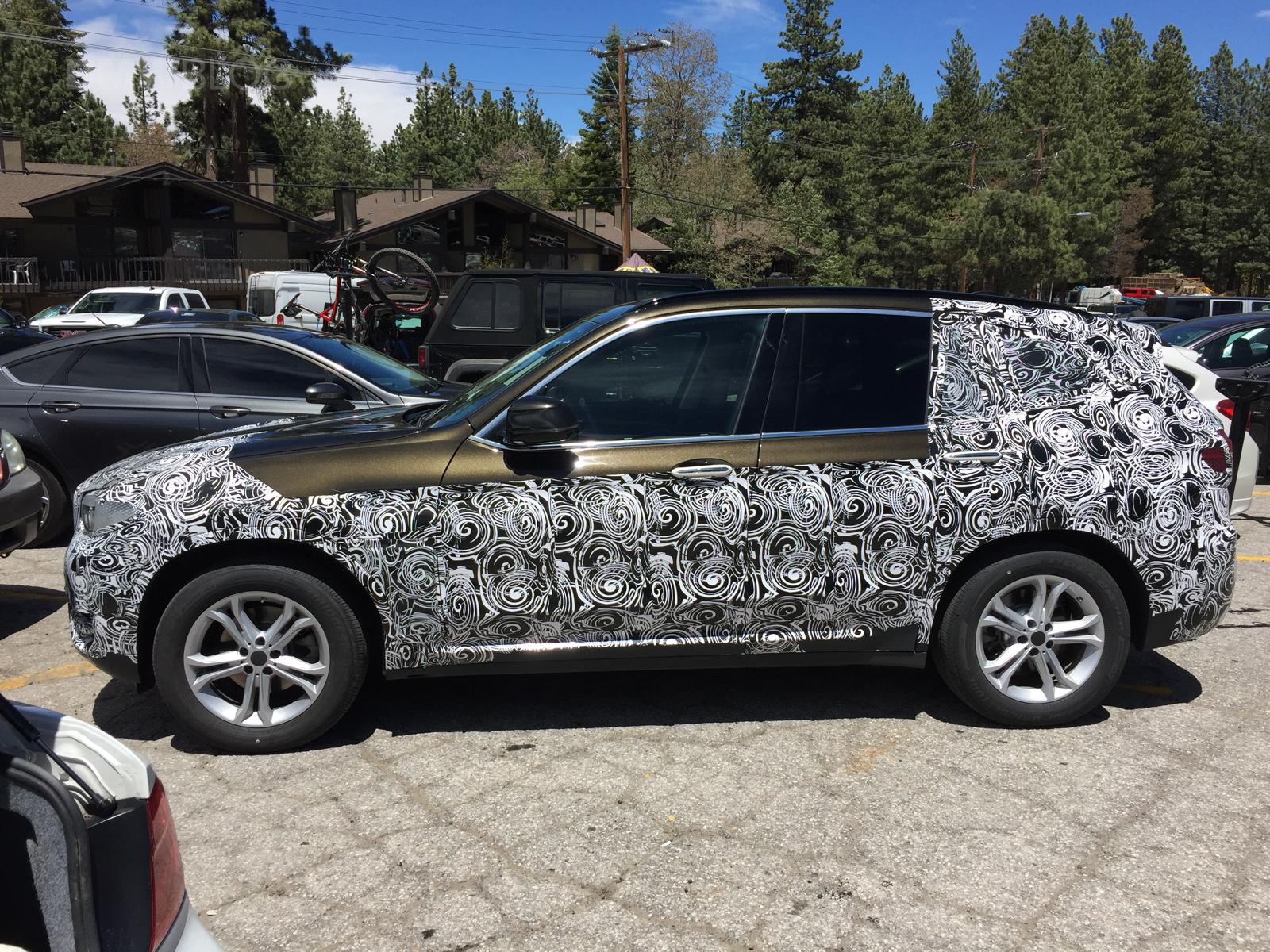 2016 - [BMW] X3 [G01] - Page 6 2018-BMW-X3-spied-01