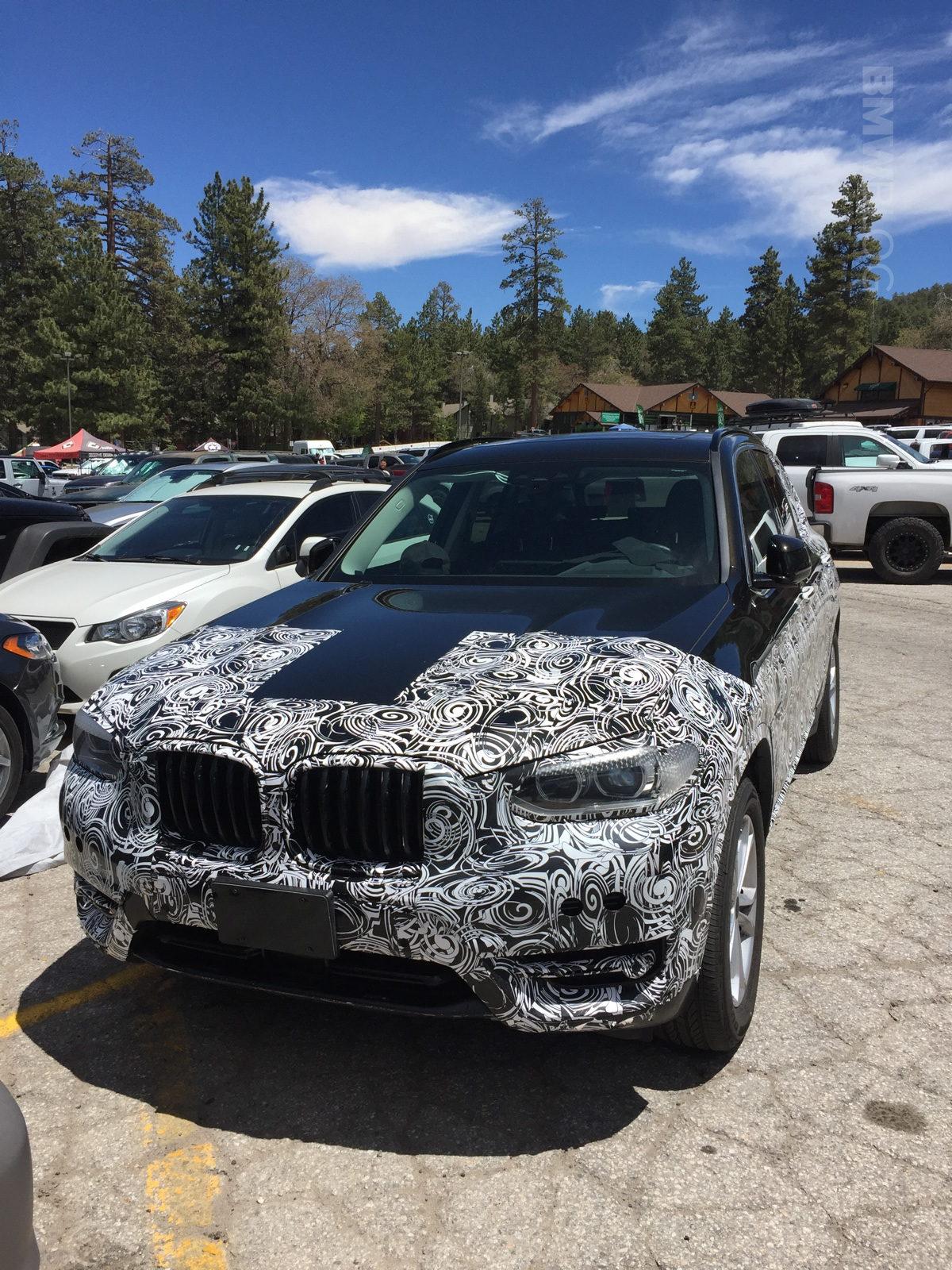 2016 - [BMW] X3 [G01] - Page 6 2018-BMW-X3-spied-02-e1497280834172