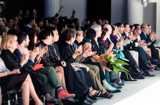 Can the Current Media Environment Produce an Honest Critic? Yiqing-yin-couture-show-suzy-menkes-front-row-656x429