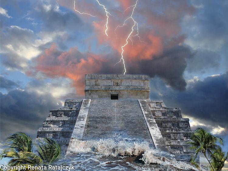 الفيضان العظيم في اساطير و اديان العالم Heaven-and-Earth-Maya-Prophecy-2