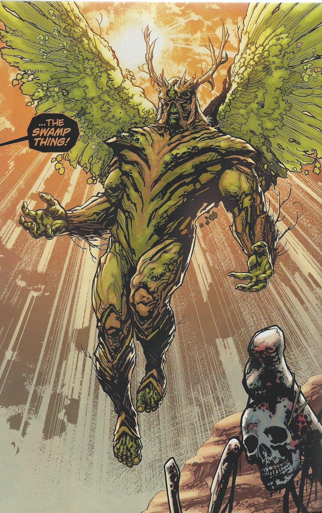 Swamp Mystery [Beast Boy] Swamp-thing