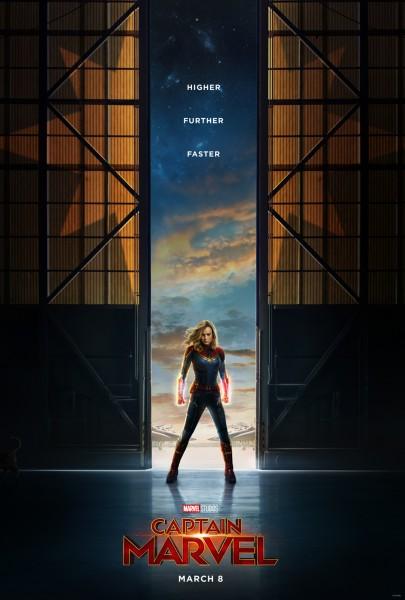 Captain Marvel [Marvel - 2019] - Page 2 Captain-marvel-poster-405x600
