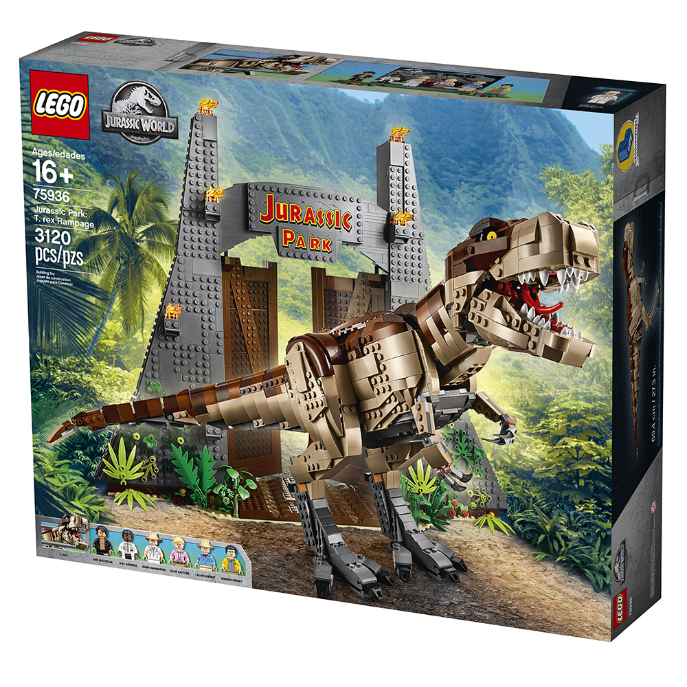 New LEGO Set with Mini-Scenes from first JP Lego-jurassic-park-box-front-2