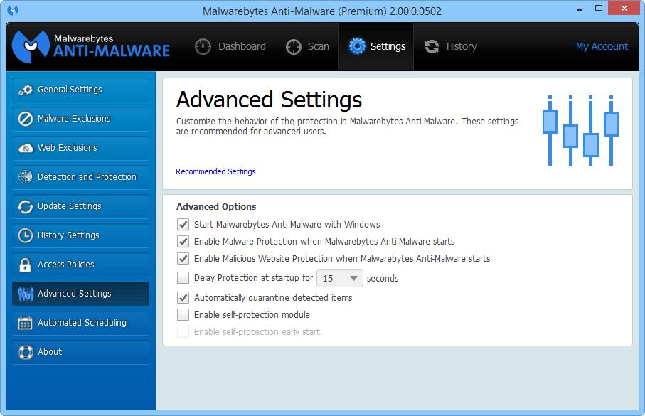 Malwarebytes Anti-Malware 2.0 доступен для тестирования Mbam_2_3