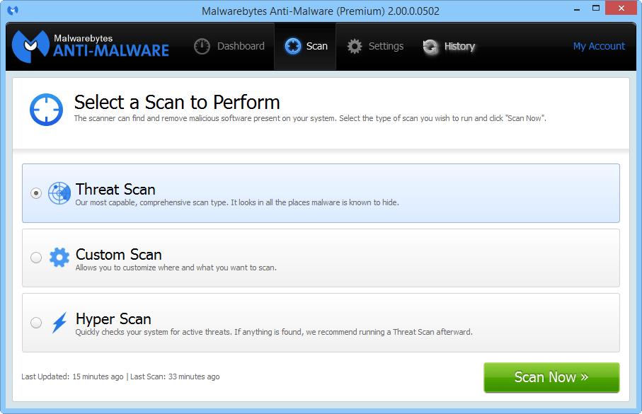 Malwarebytes Anti-Malware 2.0 доступен для тестирования Mbam_2_4