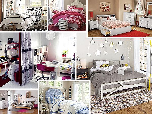 modern bedroom for teen girls Teenage-girls-bedroom-ideas