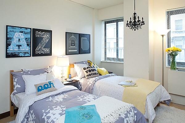 Les demandes de logements  College-girl-bedroom-with-fancy-wall-art