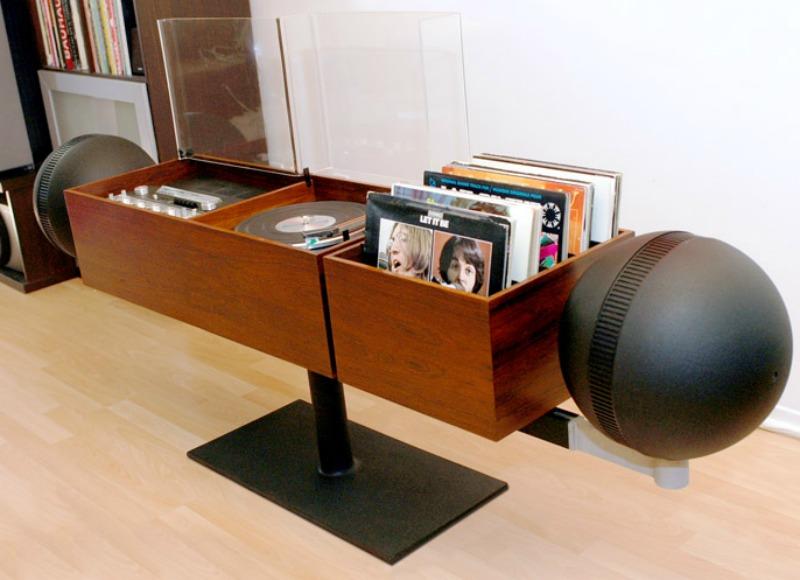 Ideas Hum Unique-record-console