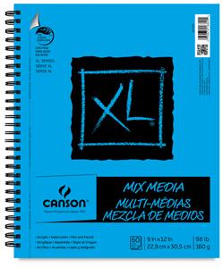 art journal/cahier mixed media 12468-1023-2-2ww-m