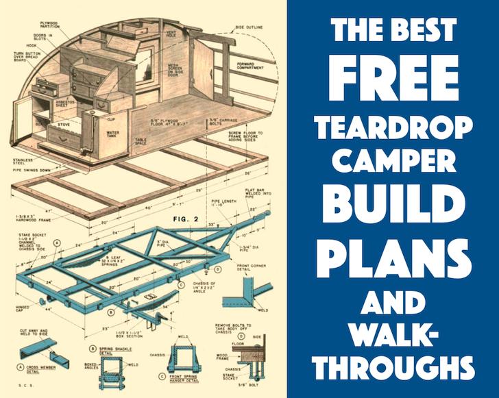 Les meilleurs plan de teardrop gratuit  Free-teardrop-build-plans