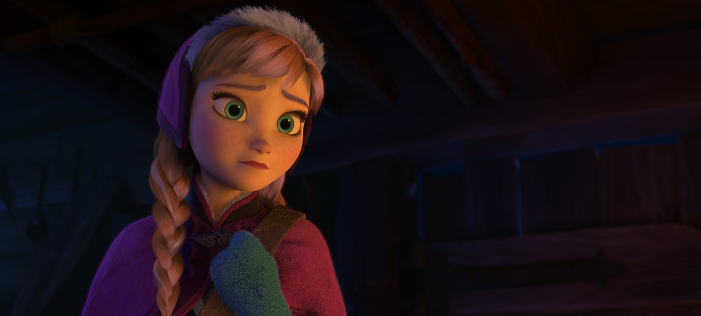 Disney's Frozen (and poll!) Anna-longing