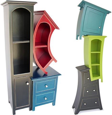 Ludi dizajni - Page 2 Surreal-creative-curved-shelving-storage