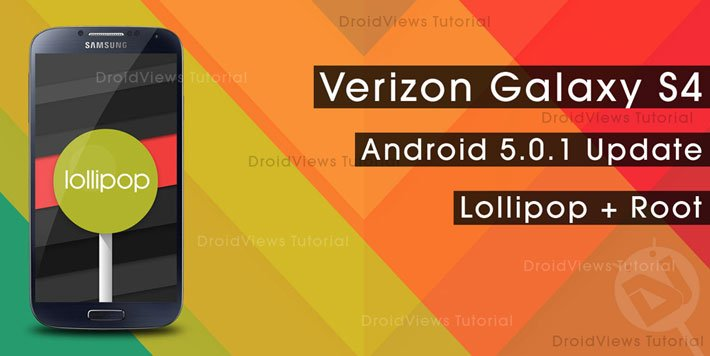 AutoRoot S4-I9505 Lollipop-on-Verizon-Galaxy-S4
