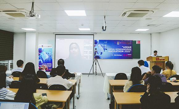 """Đại học Duy Tân đồng Tổ chức Cuộc thi Khởi nghiệp """"ASEAN Virtual Entreprene IMG_5438c-96"""