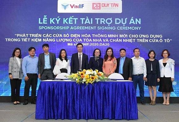 Dự án của Đại học Duy Tân nhận tài trợ của quỹ VinIF Quyvinf2-87