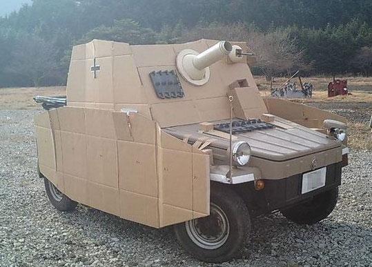 Cardboard... Tank