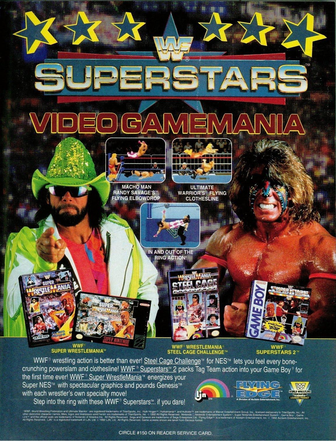 Posters y anuncios de videojuegos clásicos 83841264