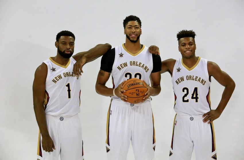 Basket USA - Présentation du roster 9559202-buddy-hield-tyreke-evans-nba-new-orleans-pelicans-media-day-850x560