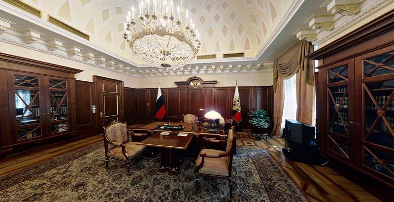 10 рабочих кабинетов президентов разных стран. 1_01