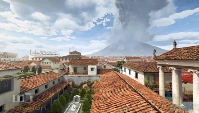 Ce qui s'est passé durant les dernières 48 heures de la catastrophe volcanique de Pompéi ! By Gurumed.org                             A-day-in-pompeii_thumb