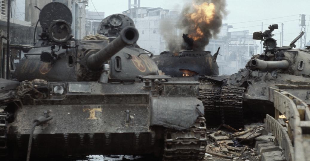 Vietnam War 1954-1975 North-vietnamese-enter-saigon-P