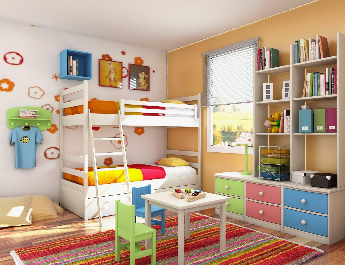 Dečija soba  - Page 9 Kids-room-design1