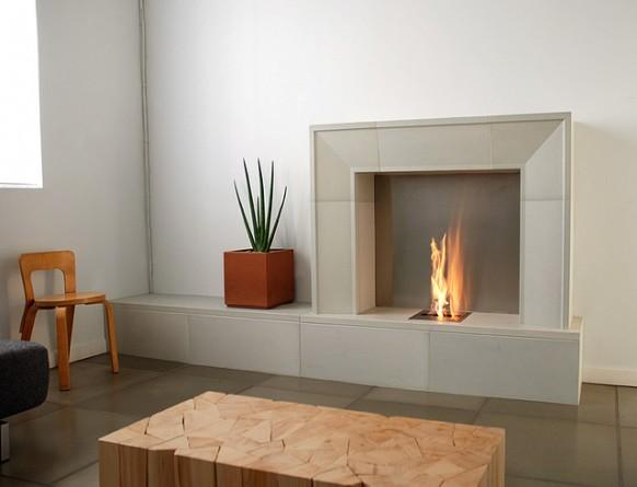 DECORACION  CHIMENEAS Y FALSAS CHIMENEAS - Página 5 Modern-electric-fireplace-grey-stone-582x445