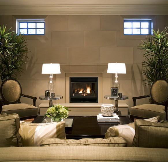 DECORACION  CHIMENEAS Y FALSAS CHIMENEAS - Página 4 Modern-fireplace-linen-taper-cast-concrete-living-room-582x562