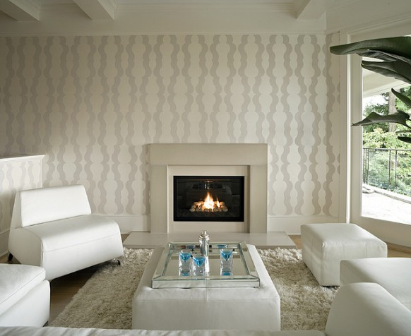 DECORACION  CHIMENEAS Y FALSAS CHIMENEAS - Página 3 Modern-fireplace-white-living-room-582x476