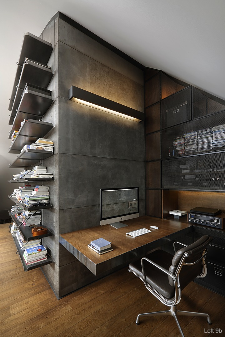 AMBIENTAZOS CON EQUIPOS VINTAGE... Gorgeous-home-office