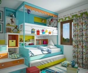 Dečija soba  - Page 9 Kids-loft-bed-inspiration-300x250