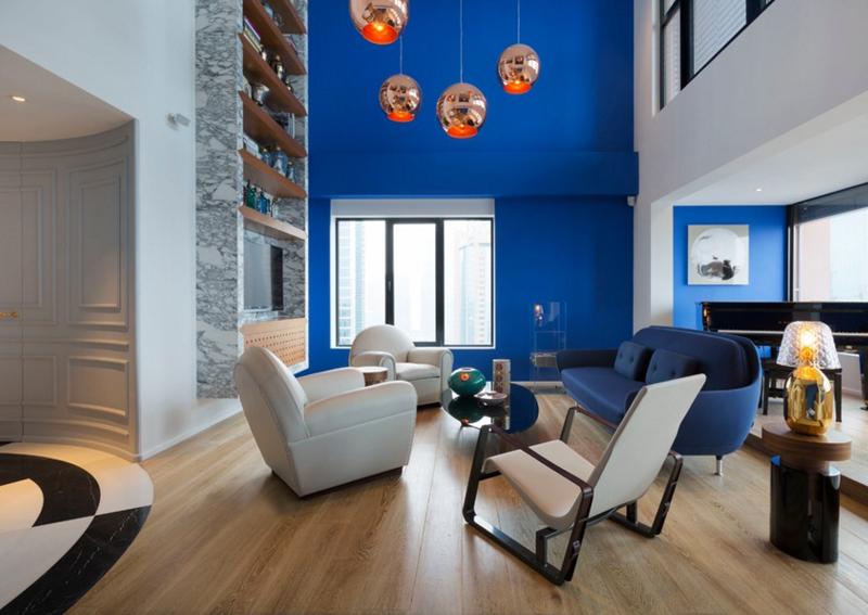 غرفة المعيشة  20-Blue-Pent