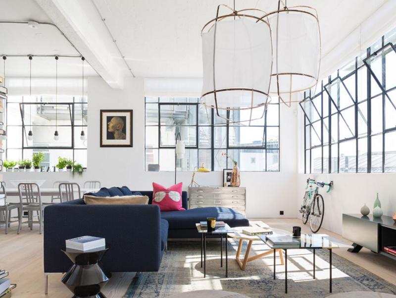 غرفة المعيشة  5-London-Loft