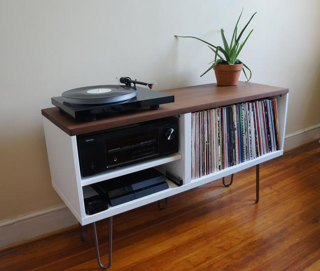 Ideas Hum Mid-century-mdern-vinyl-media-storage