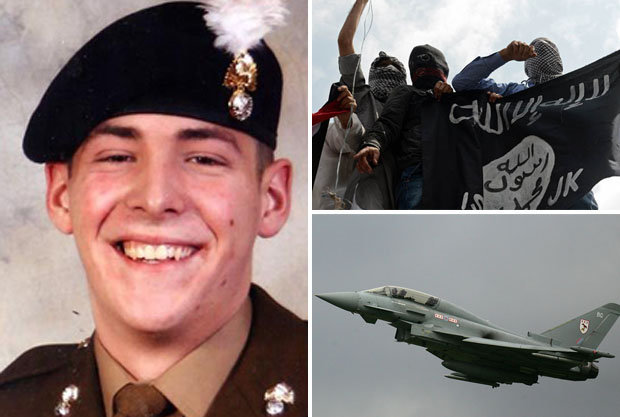 Britain on alert as ISIS plot 'Lee Rigby-style' attacks at four RAF bases 55d0bd439245d_rigby
