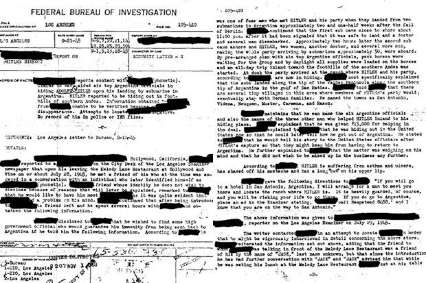 """عميل سابق بجهاز الـ""""سي.آي.إيه"""" يكشف لغز وفاة هتلر 385431"""