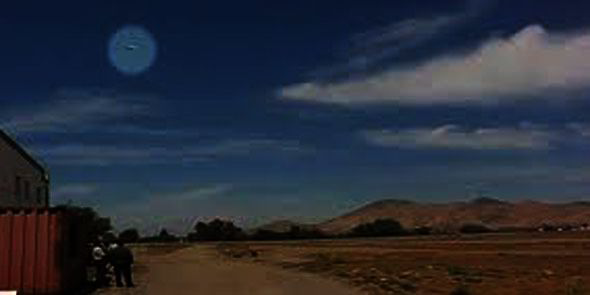 Amazing UFO spotted in Chile was NOT a man-made object, government claim Chile-UFO1-279248