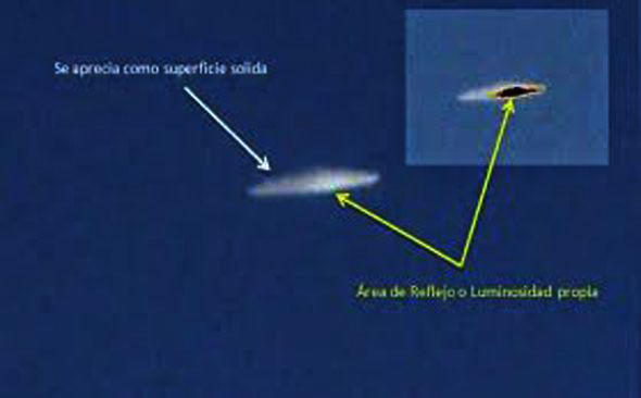 Amazing UFO spotted in Chile was NOT a man-made object, government claim ChileUFO2-279250