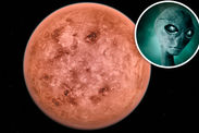MAJOR BREAKTHROUGH: Nearby planet Wolf 1061c could be home to ALIEN LIFE 755408_1