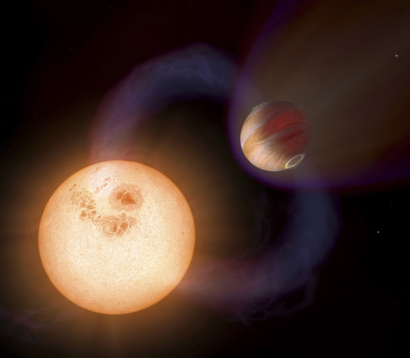 MAJOR BREAKTHROUGH: Nearby planet Wolf 1061c could be home to ALIEN LIFE Exoplanet-797403
