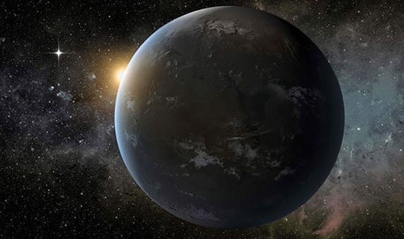 MAJOR BREAKTHROUGH: Nearby planet Wolf 1061c could be home to ALIEN LIFE Wolf1061c-756859