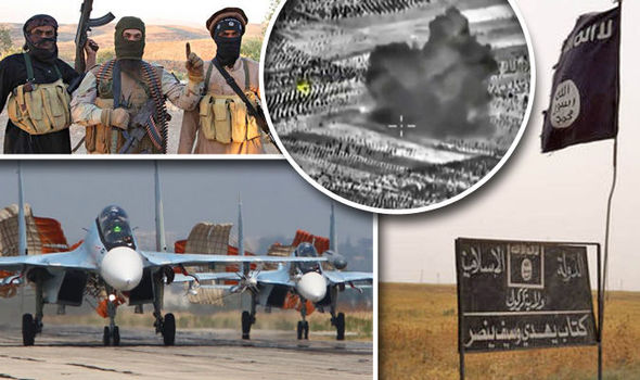 ISIS left so weakened by airstrikes and desertion it could be destroyed in just HOURS Isis-609680
