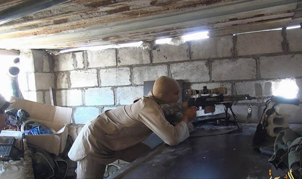 ISIS left so weakened by airstrikes and desertion it could be destroyed in just HOURS ISIS-sniper-358573