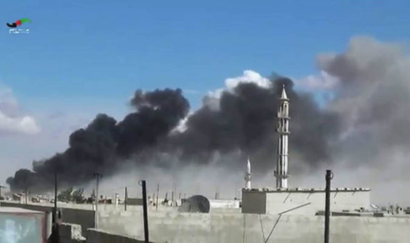 ISIS left so weakened by airstrikes and desertion it could be destroyed in just HOURS Airstrike-isis-358568