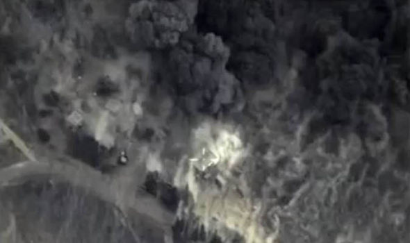 ISIS left so weakened by airstrikes and desertion it could be destroyed in just HOURS Isis-drone-358566