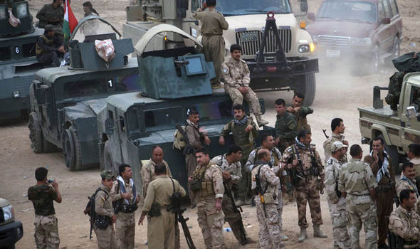 ISIS left so weakened by airstrikes and desertion it could be destroyed in just HOURS Peshmerga-358560