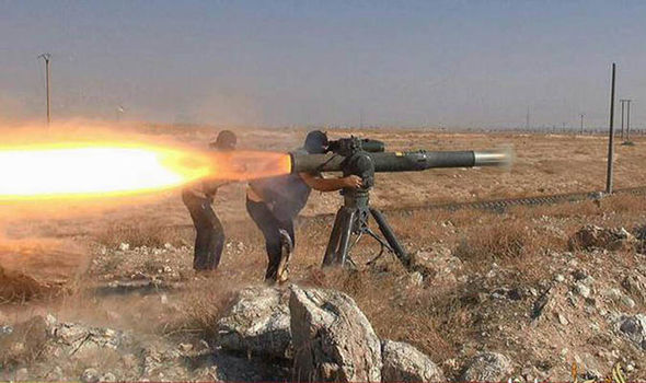 ISIS left so weakened by airstrikes and desertion it could be destroyed in just HOURS Rocket-launcher-358571
