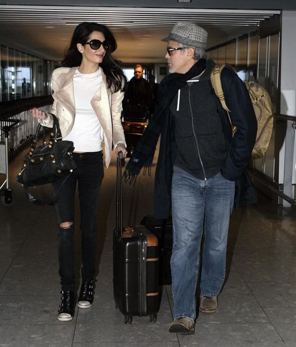 George and Amal Clooney spotted at Heathrow Amal-clooney-george-clooney-heathrow-226494