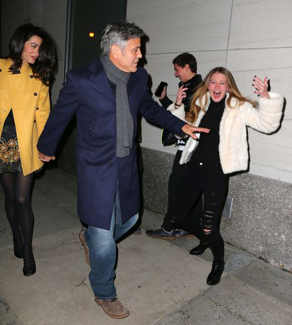 George Clooney and Amal out for dinner on the Upper East Side at Kappo Masa George-clooney-amal-262184